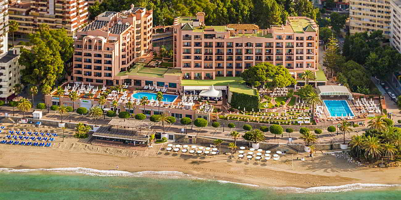 Hotels in malaga spain fuerte hotels for Hotel malaga premium