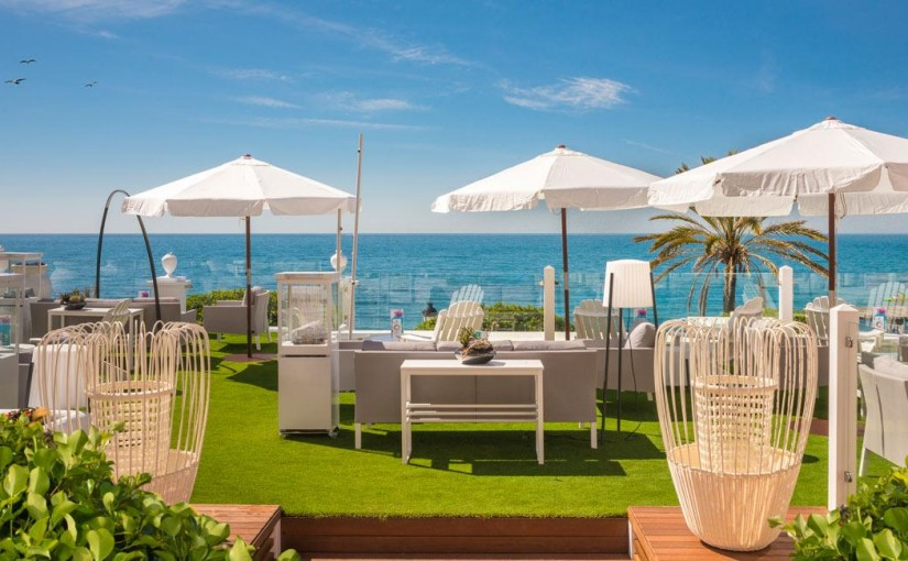 Hotel Fuerte Marbella - zona chill out