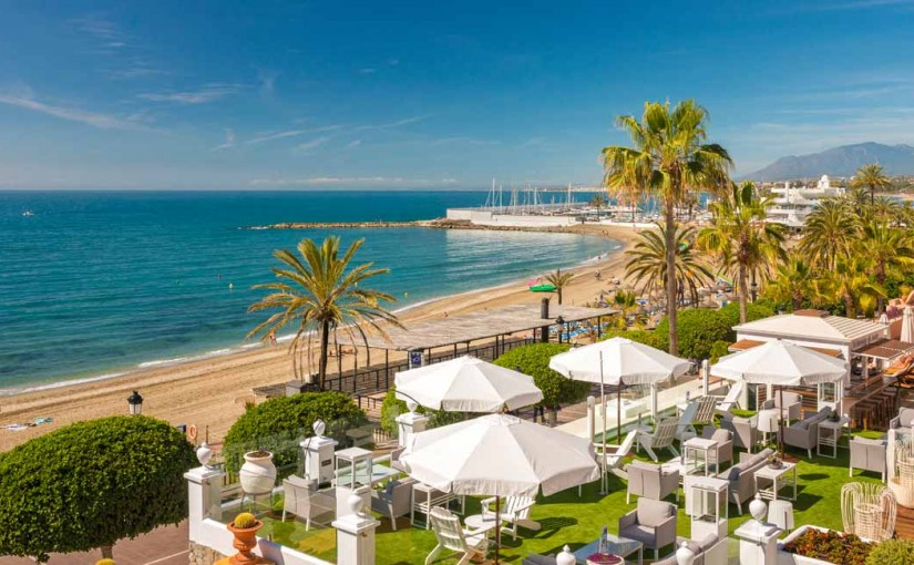 Zona Chill out - Hotel Fuerte Marbella