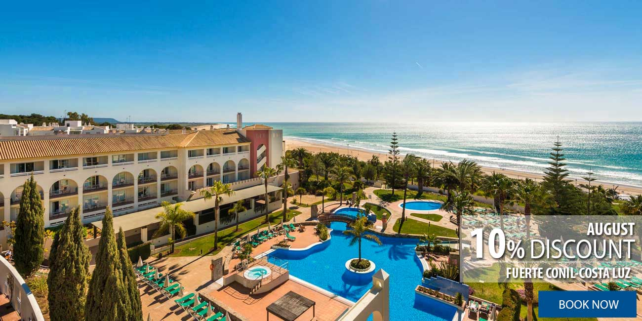Conil offer in august
